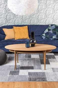 Cazzaro grå 135 x 195, 160 x 230, 200 x 290