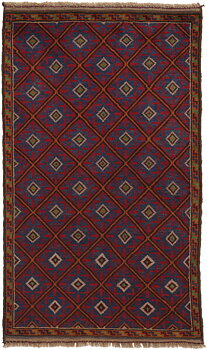 Afghan old Balutch fine 85 x 139