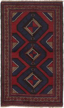 Afghan old Balutch fine 87 x 142