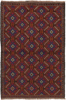Afghan old Balutch fine 85  x 126
