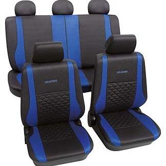 Exclusive blå universal bilklädsel
