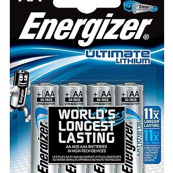 Energizer AA Ultimate Lithium batteri