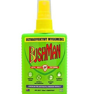 Bushman myggmedel spray