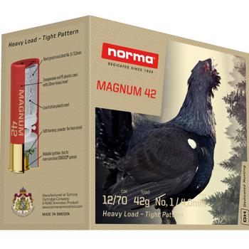 NORMA MAGNUM DUPLEX 42 12/70 US2+4