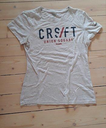 Ljusgrå Reebok Crossfit T-shirt strl L