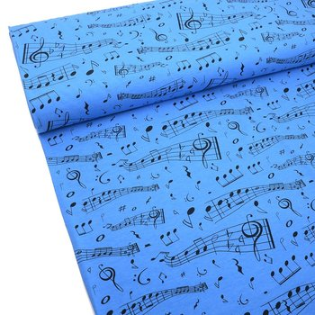 MUSIC NOTES  - BLUE