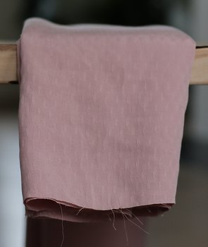 DIAMOND JACQUARD TENCEL ™ - OLD PINK