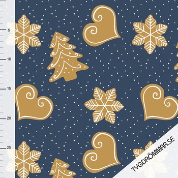 GINGER BREAD - DARK BLUE