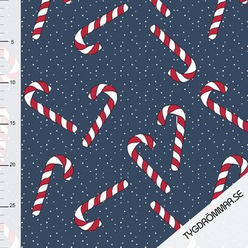 CANDY CANE - DARK BLUE