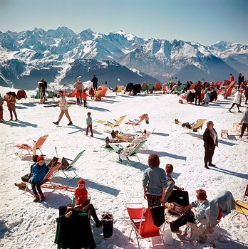 Slim  Aarons - Verbier vacation