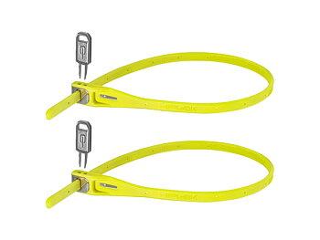 Hiplok Z LOK, Twin Pack - Kabel lås - Gult