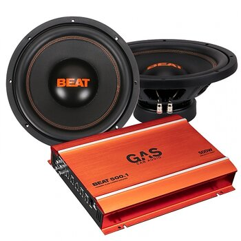 2-pack GAS BEAT124 & GAS BEAT 500.1