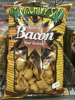 Bacon chips 125 g.
