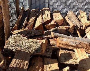Red wood Oak 10 kg. Ved