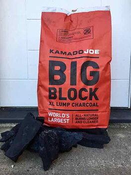 Kamado Joe Big block, 9 kg.  kol