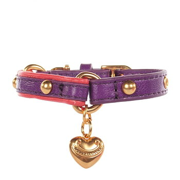 Juicy Couture Dog Collar S -Lilac