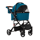 CARINO2 LUXURY PET STROLLER - MELANGE BLUE