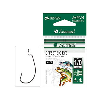 Mikado Sensual Offset Big Eye 4/0 4-pack