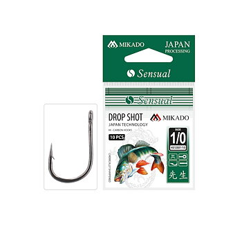 Mikado Sensual Drop Shot 1/0 10-pack