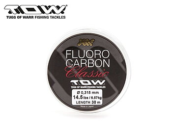 TOW Classic Fluorocarbon Leader 0,285 mm 30 m
