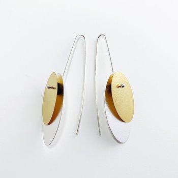 Ohrschmuck ovale Form