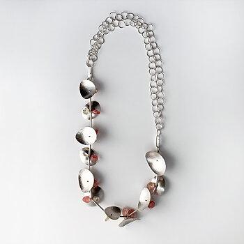 Halssmycke med  stenar