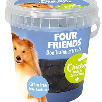 Four Friends Dog Training Treats Chicken