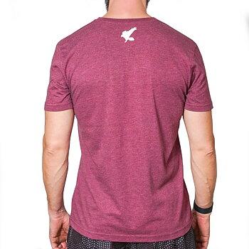 T-shirt Logo 2.0 Vinröd