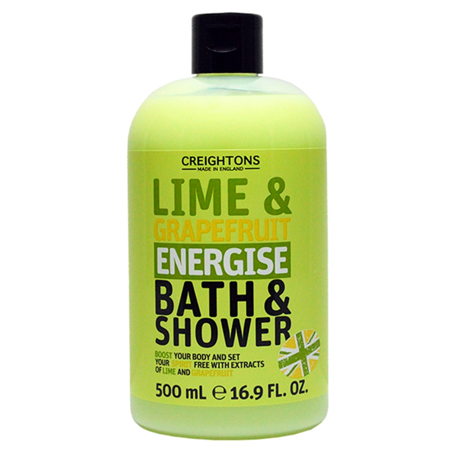 Lime & Grapefruit Energise Bath & Shower