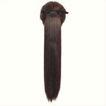 Hårförlängning Ponytail - Mörk Brun #10