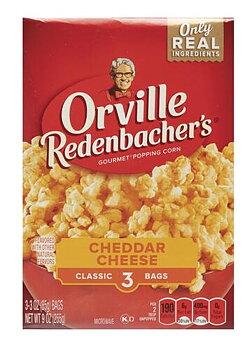 Orville Redenbacher's Cheddar popcorn