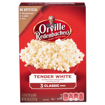 Orville Redenbacher's Tender White popcorn