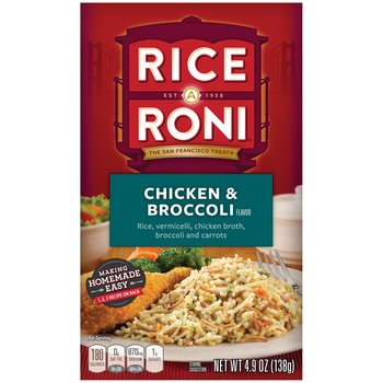 Rice-A-Roni Chicken & Broccoli