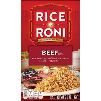 Rice-A-Roni Beef