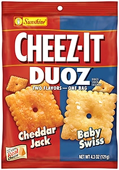 Cheez-it Duoz Cheddar Jack & Baby Swiss