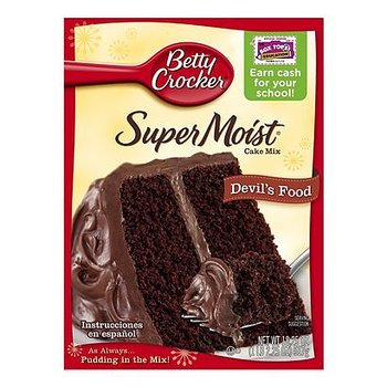 Betty Crocker® Supermoist Devils Food Cake Mix