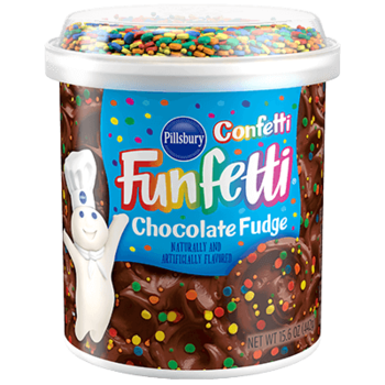 Pillsbury Frosting Funfetti Chocolate Fudge
