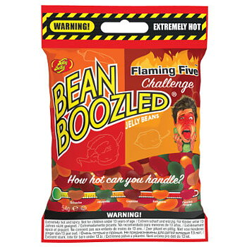 Bean Boozle Flaming Challenge