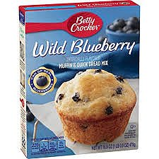 Betty Crocker Wild Blueberry Mix