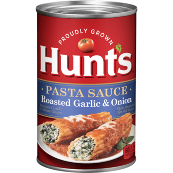 Hunts Spaghetti Sauce Garlic & Onion