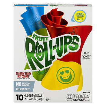 Fruit Roll Ups Blastin Berry
