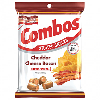 Combos Cheddar Cheese Bacon
