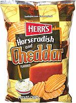 Herrs Cheddar & Horseradish Chips