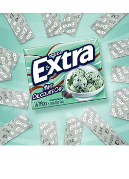 Extra Mint Chocolate Chip Gum