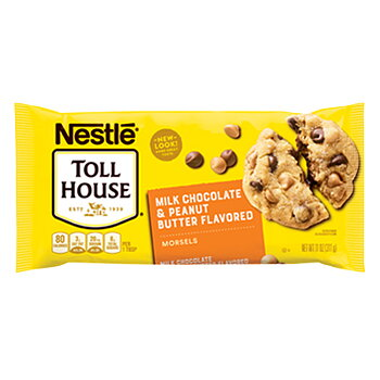NESTLÉ® TOLL HOUSE® Milk Chocolate & Peanut Baking Chips