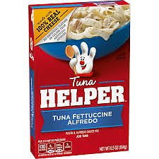 Tuna Helper Fettuccine Alfredo