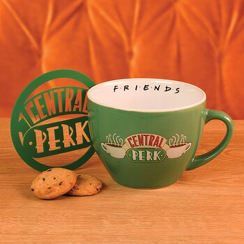 Green Central Perk Large Cappucino Cup