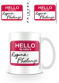 Hello My Name Is Regina Phalange Coffee Cup