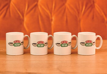 Set Of 4 Central Perk Espresso Cup