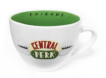 White Central Perk Large Cappucino Cup